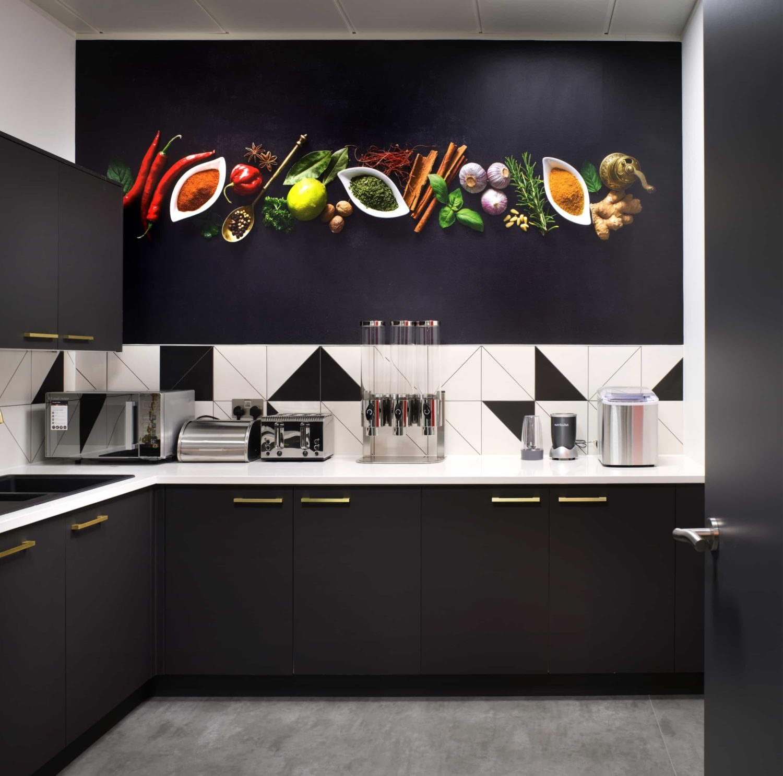Vibrant Foods office kitchen design
