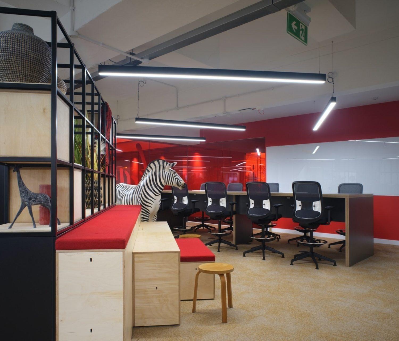 Virgin's zebra in agile office design