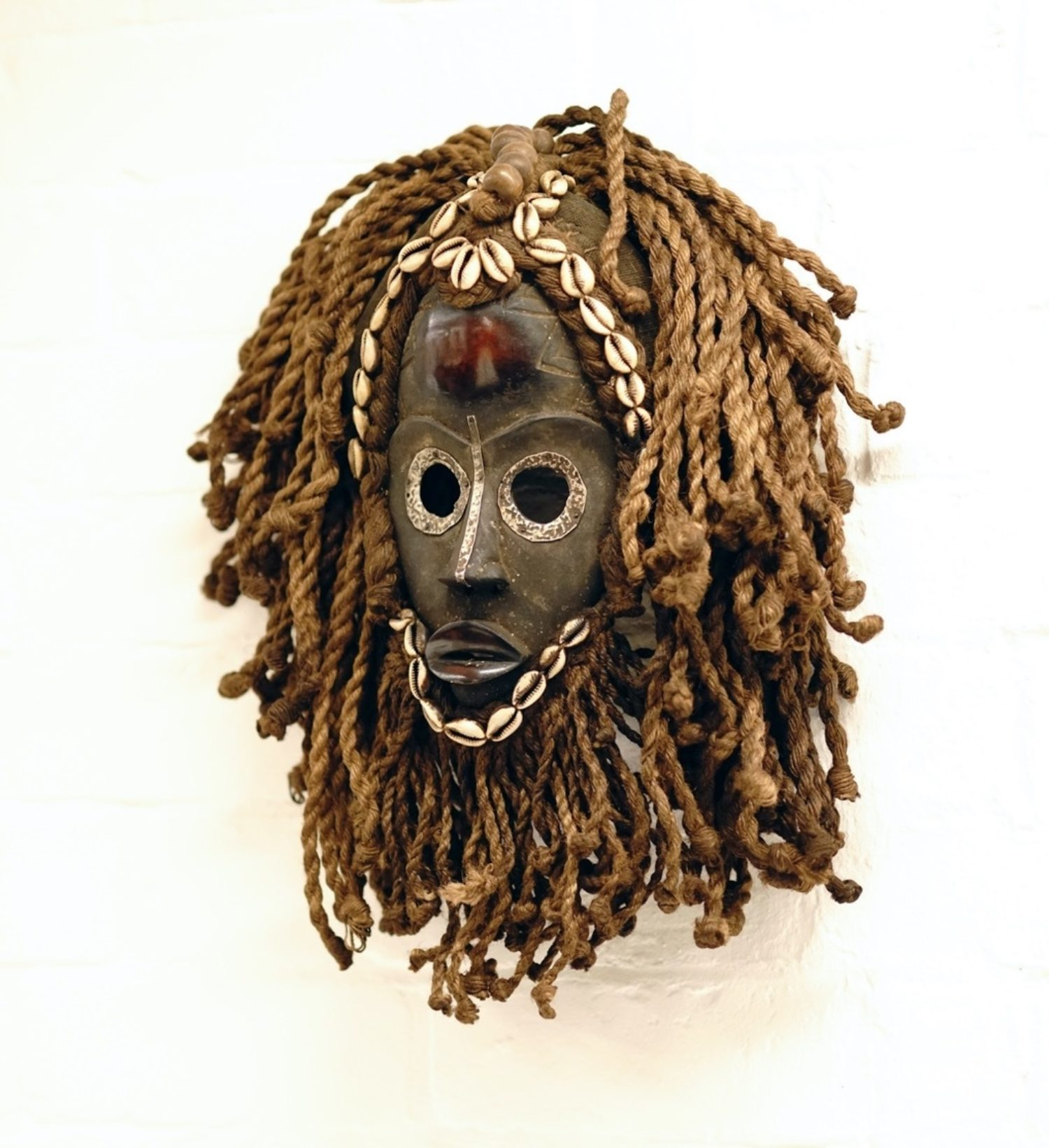 Virgin's african mask in agile office fit out