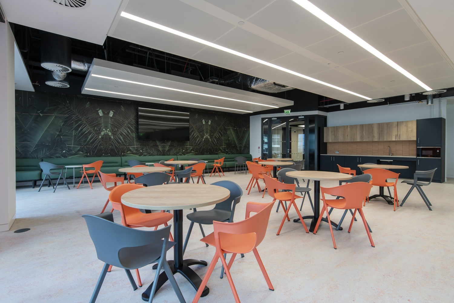 Wateraid wellbeing workspace design