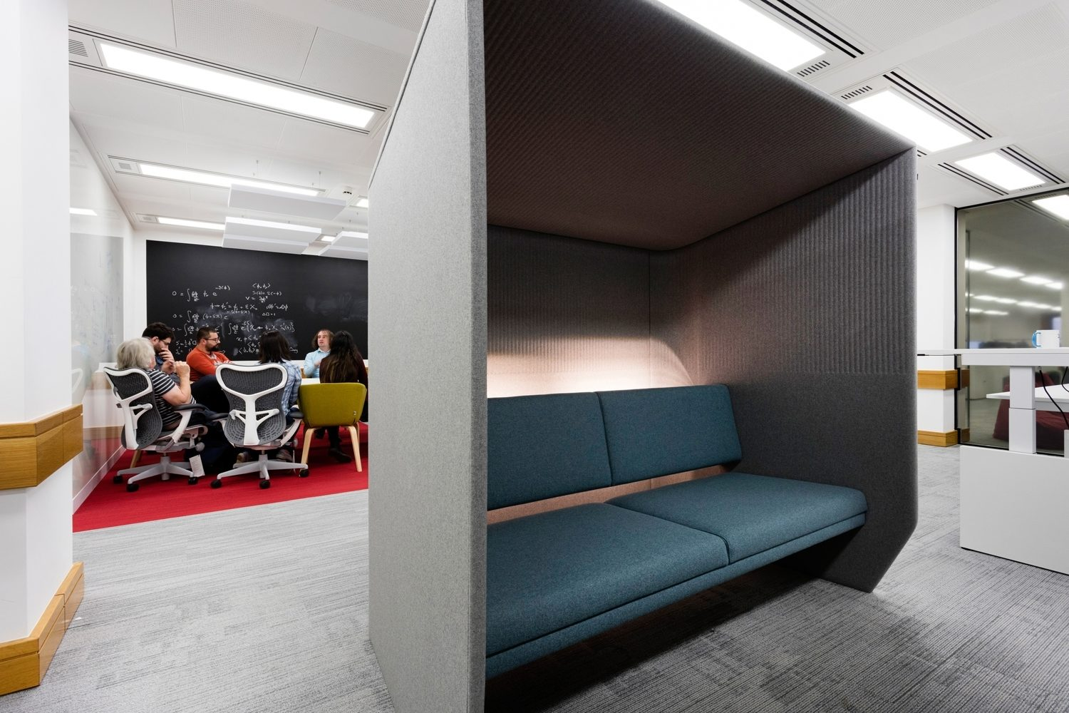 Alan Turing office acoustics design