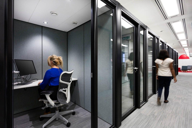 Alan Turing office work pod design
