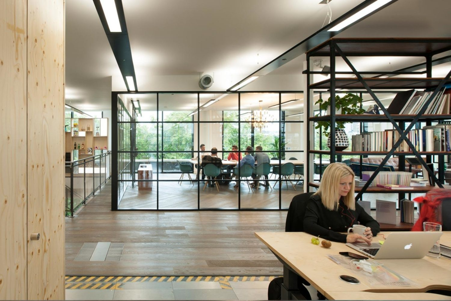 Workspace design for millennials