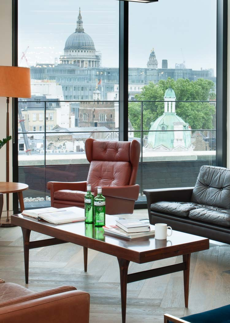 Anomoly creative office design with views of St Paul's