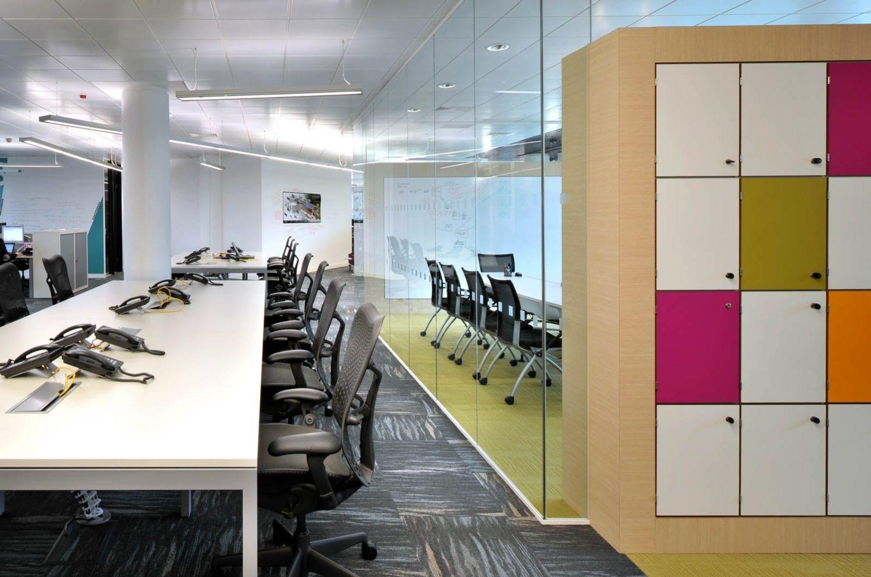 Autodesk open plan workspace design