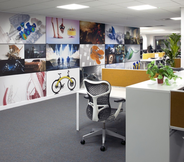 Autodesk organised workplace