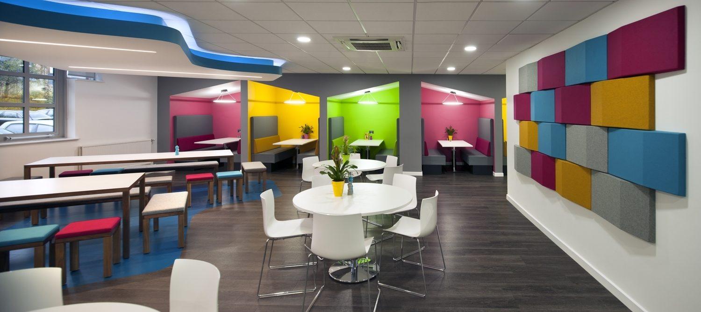Autodesk staff meeting area