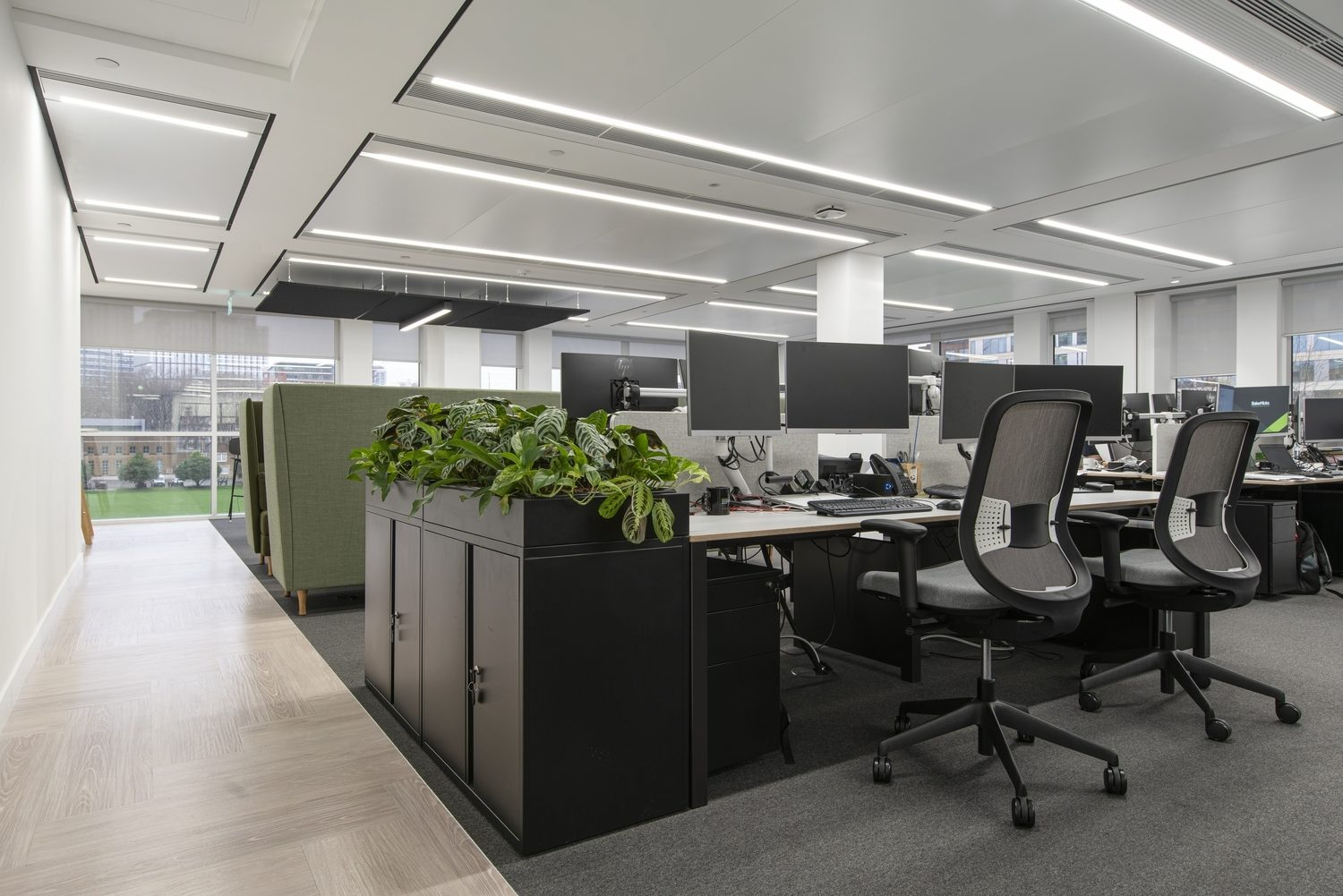 BakerHicks flexible workspace design