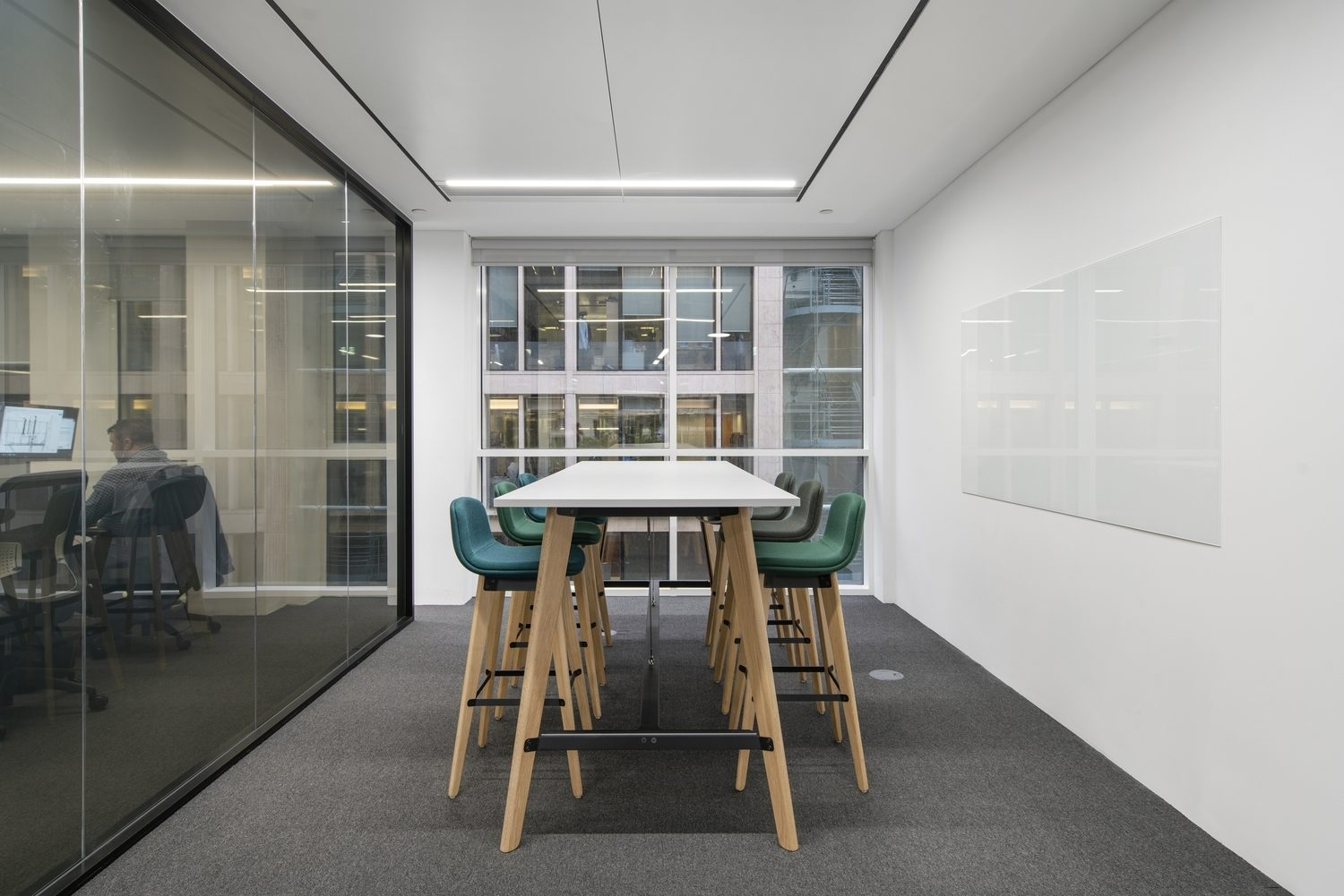 Medium meeting room designed for collaboration