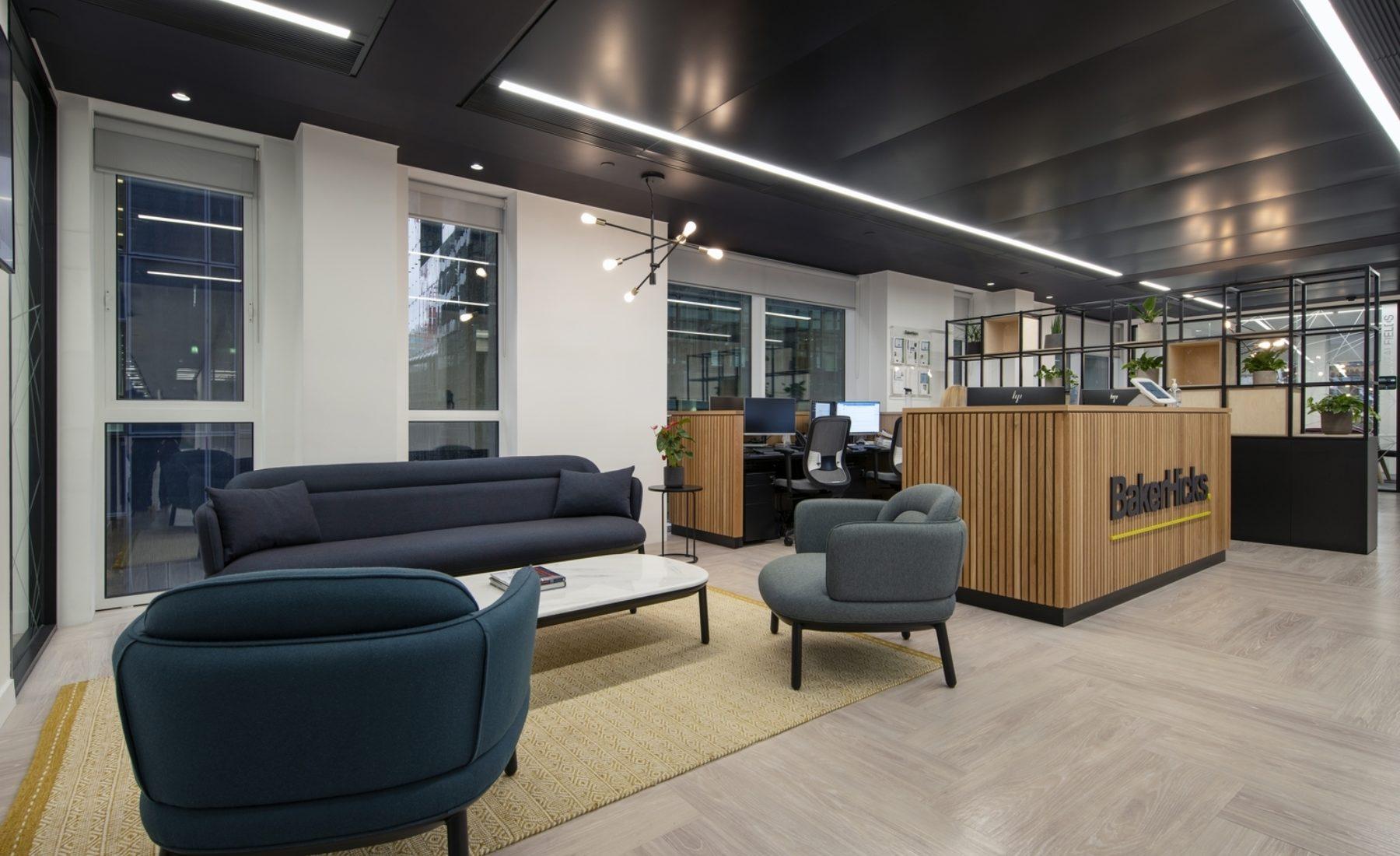 BakerHicks office design and build