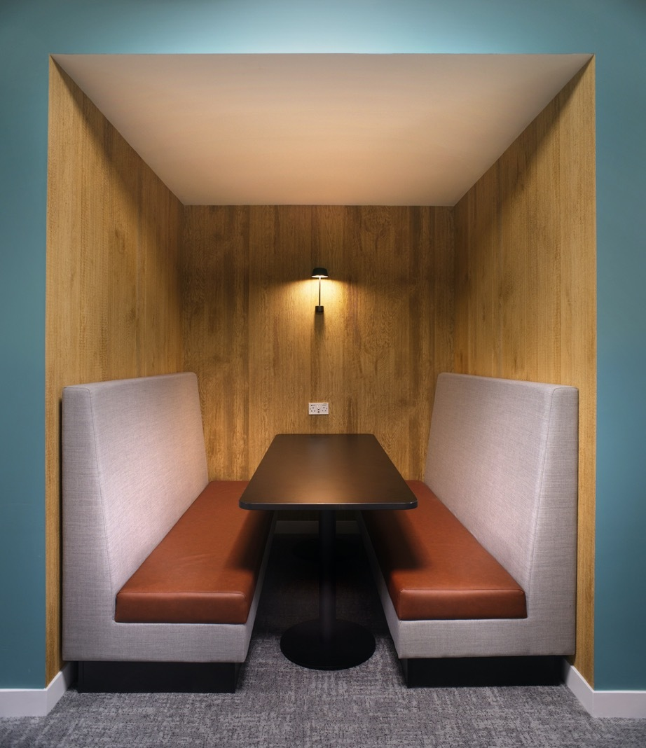 Bottomline agile private booth fit out
