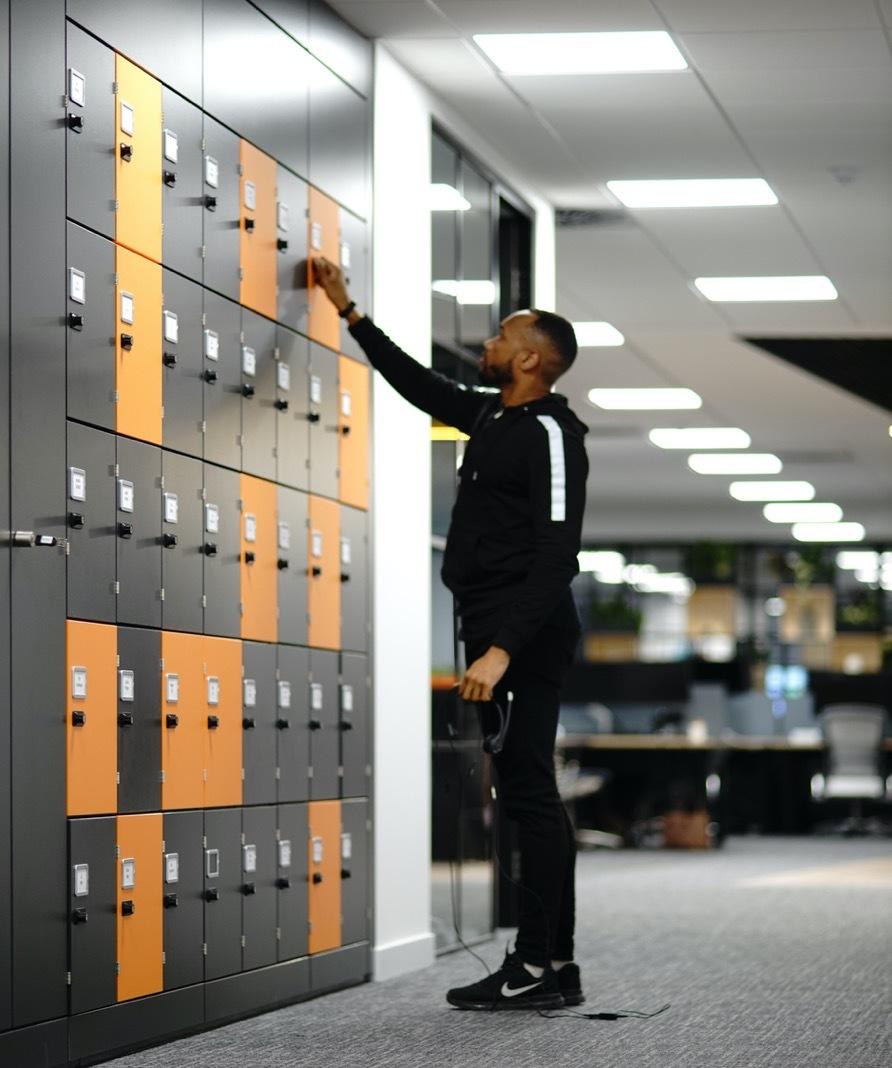 Bottomline workspace lockers
