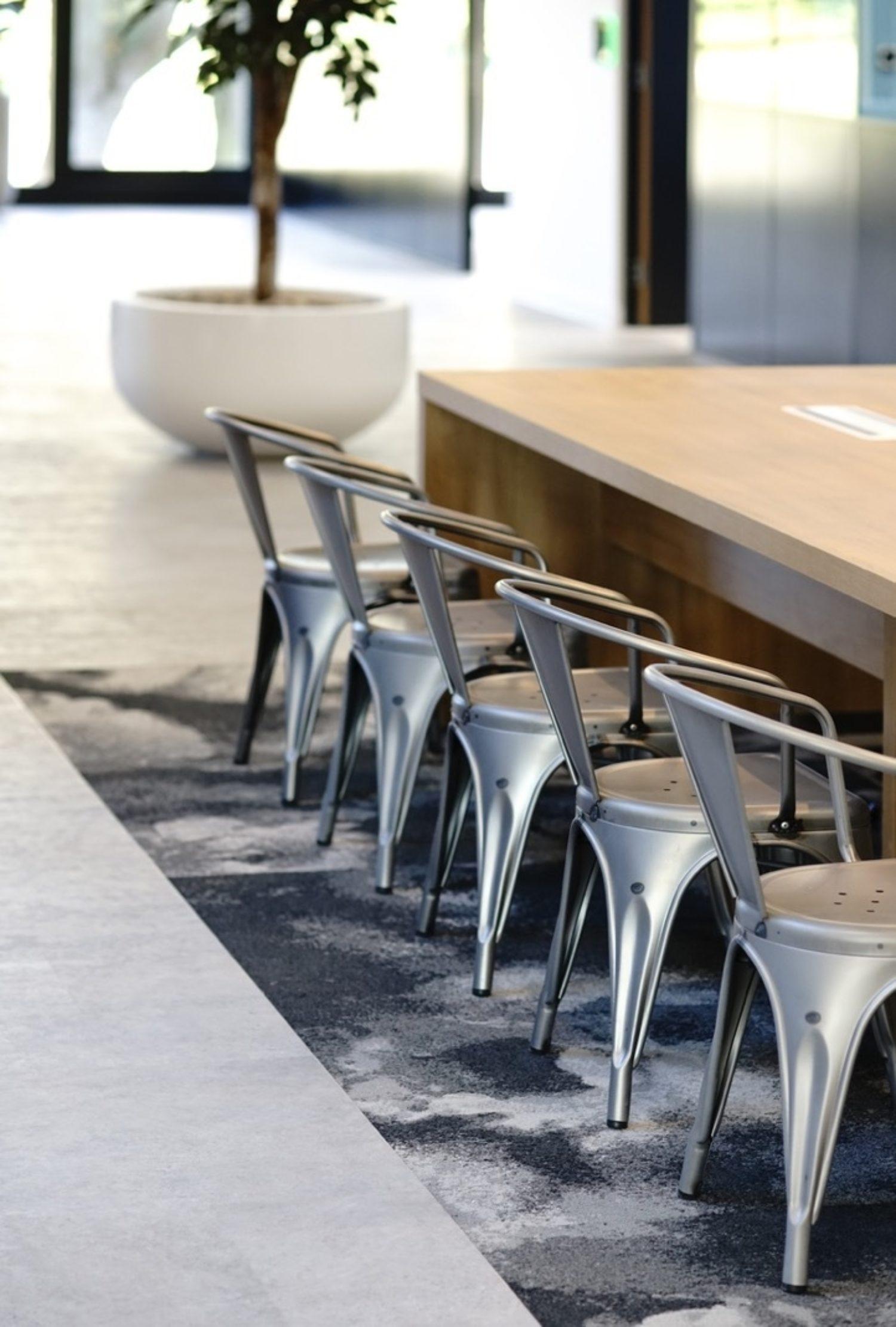 Bottomline office kitchen designer chairs