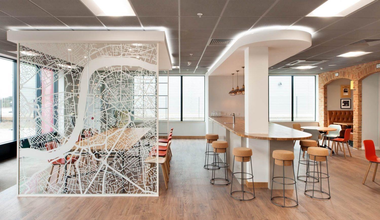 Costa modern office kitchen design