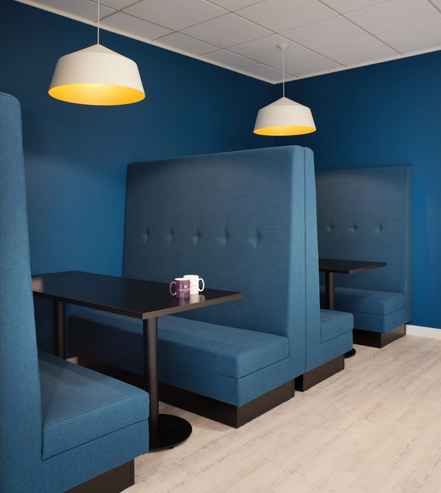 Countryside breakout interior office design