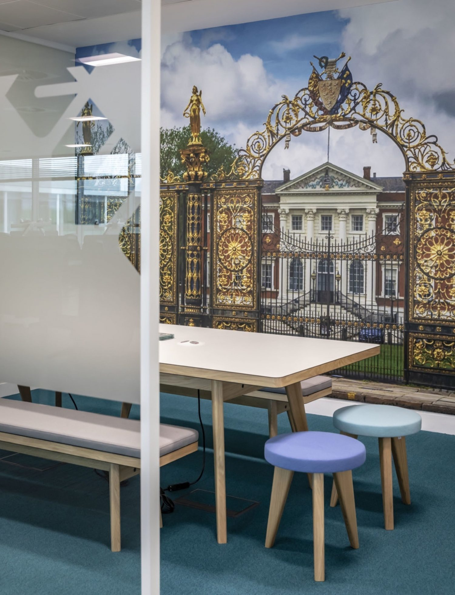 Countryside open plan office refurbishment