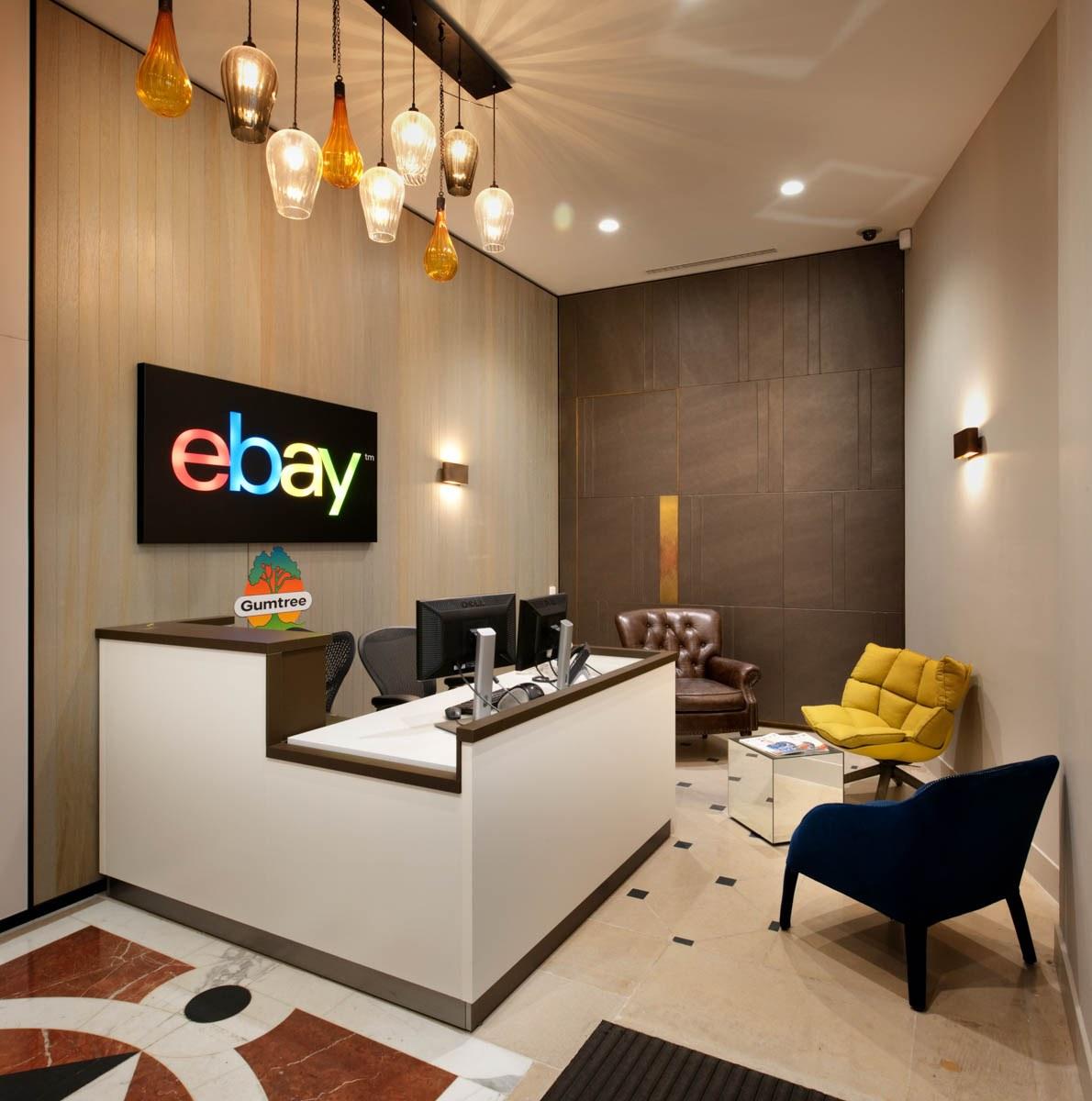 eBay reception biophilia design ideas