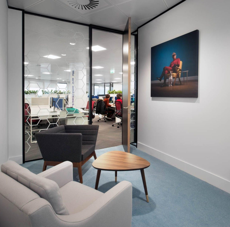 EUSA Pharma designer meeting room