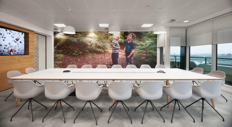 EUSA Pharma modern boardroom interior design