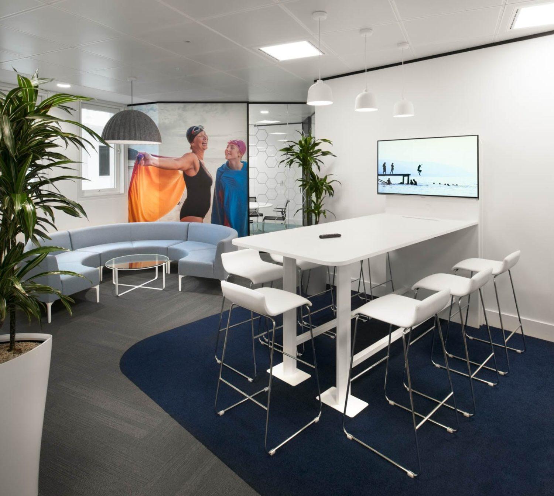 EUSA Pharma workplace wellbeing area