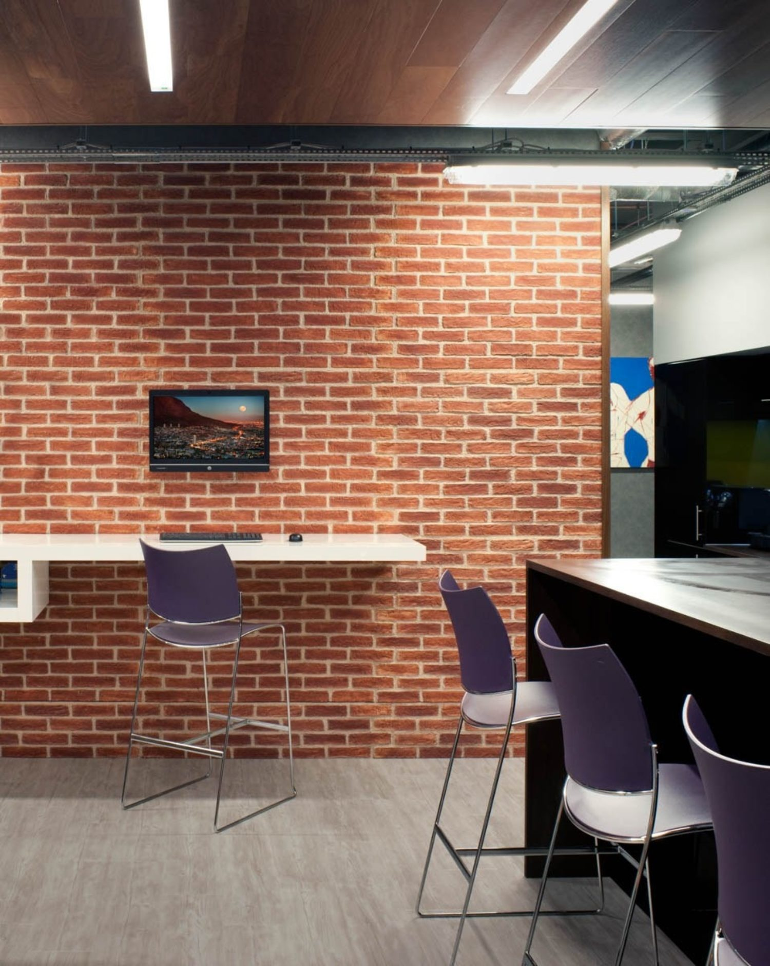 FirstRand exposed brick breakout space