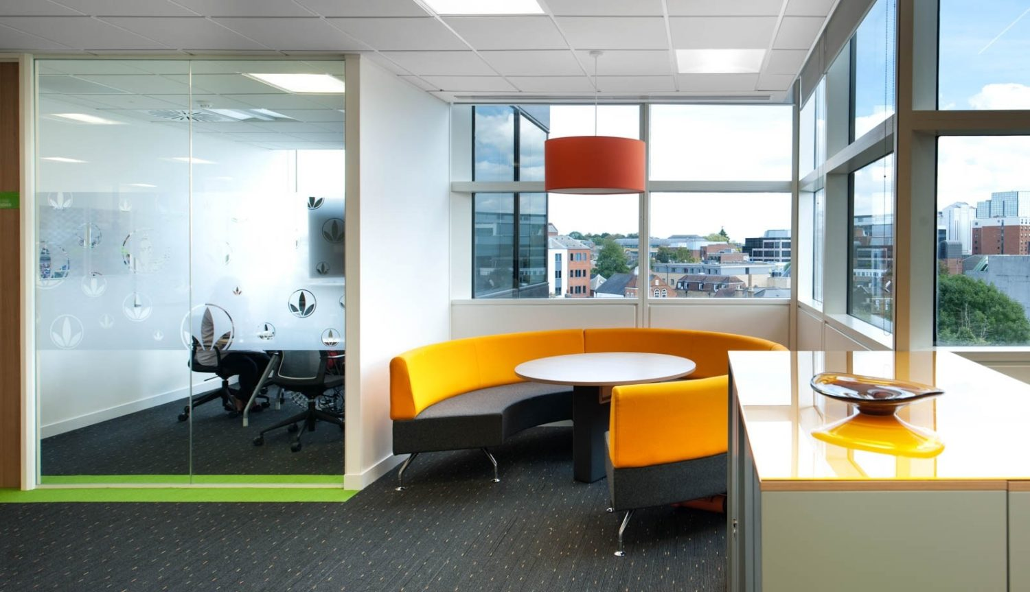 Herbalife collaborative office space fit out