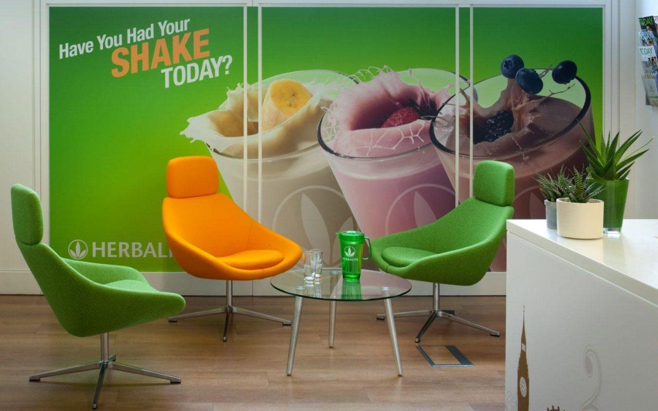 Herbalife reception fit out
