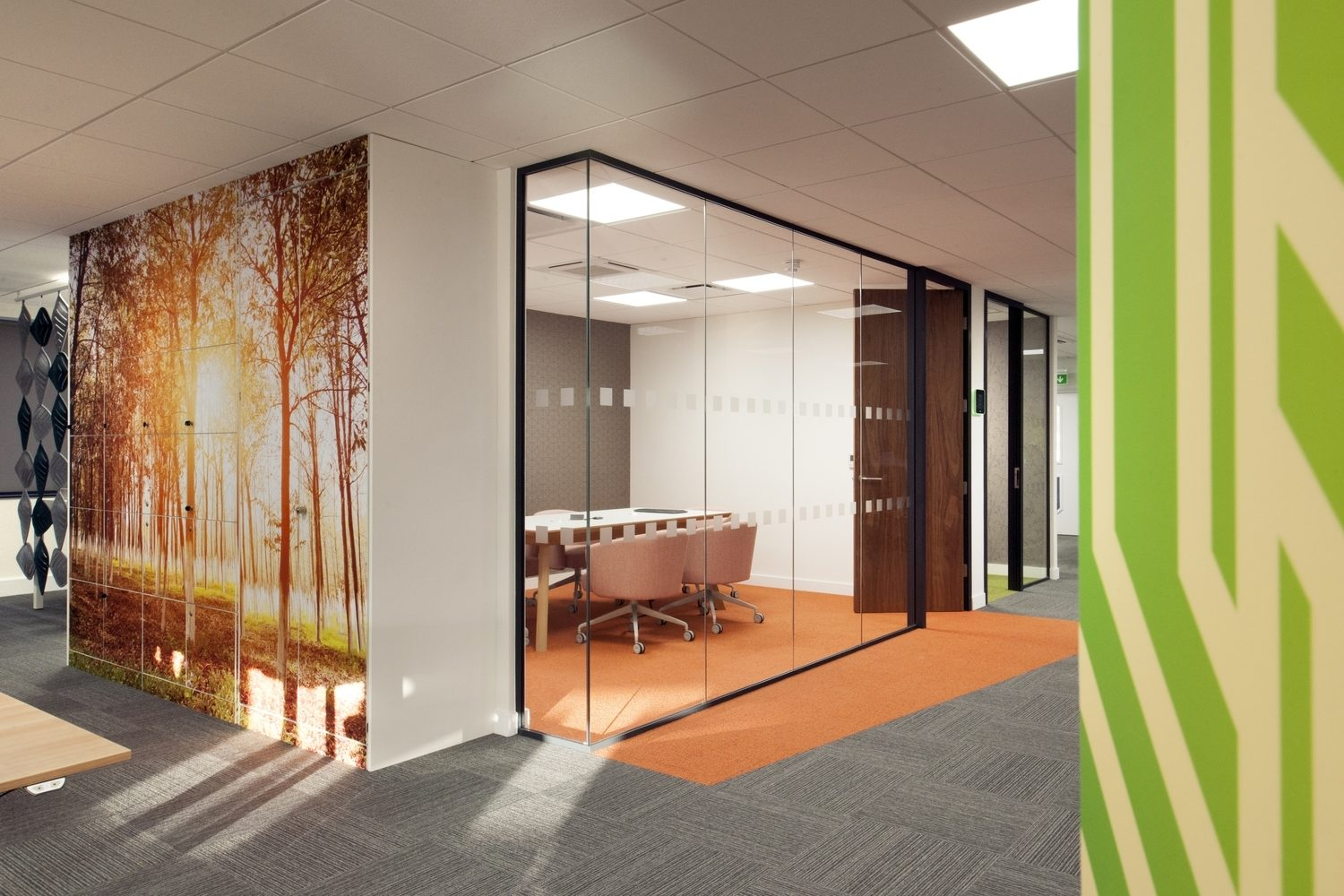 Housing Solutions casual meeting space design