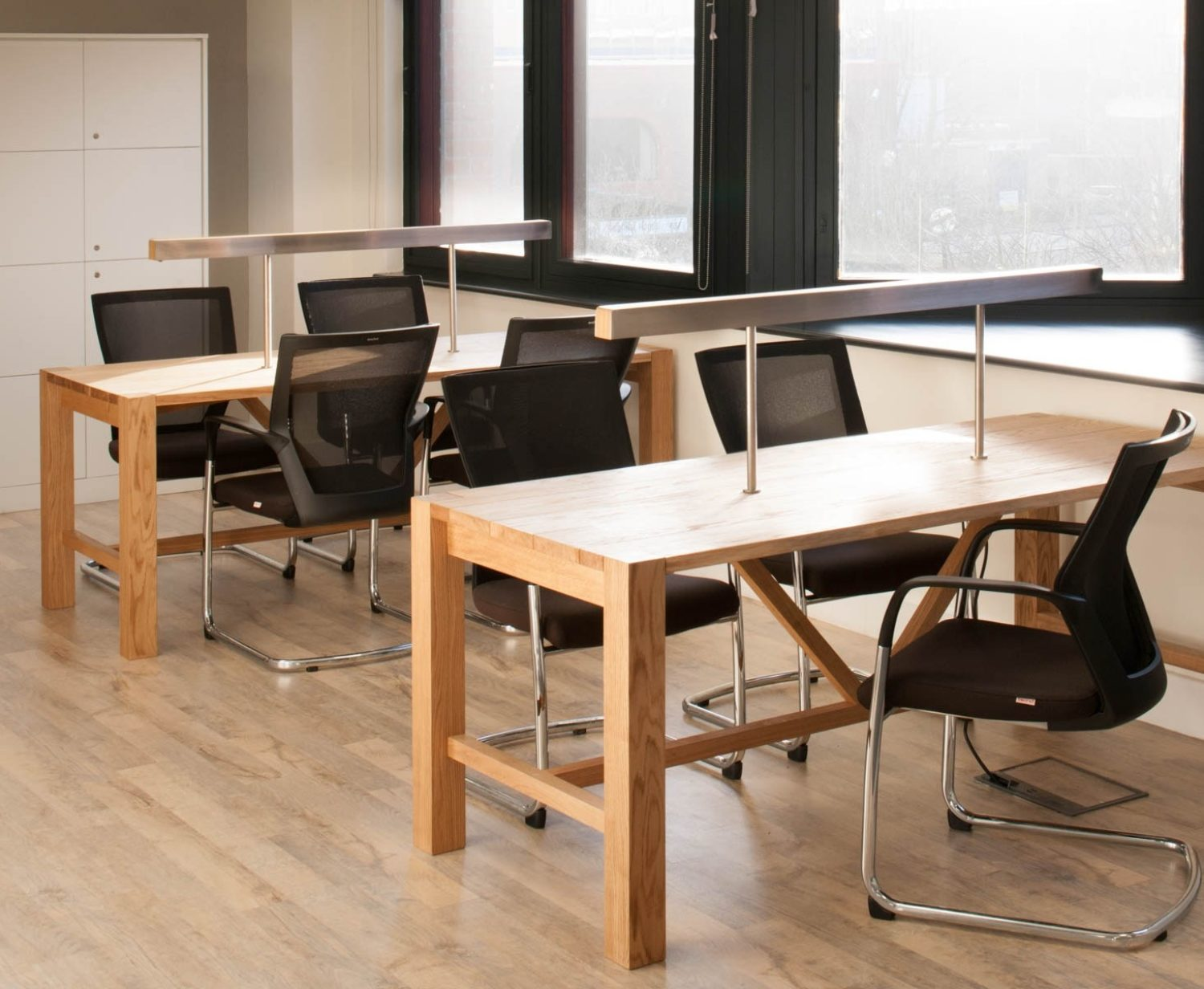 Housing Solutions open plan office fit out