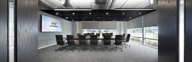 Hyundai boardroom design ideas