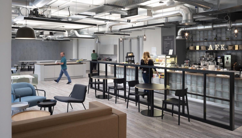 Hyundai office cafe design ideas