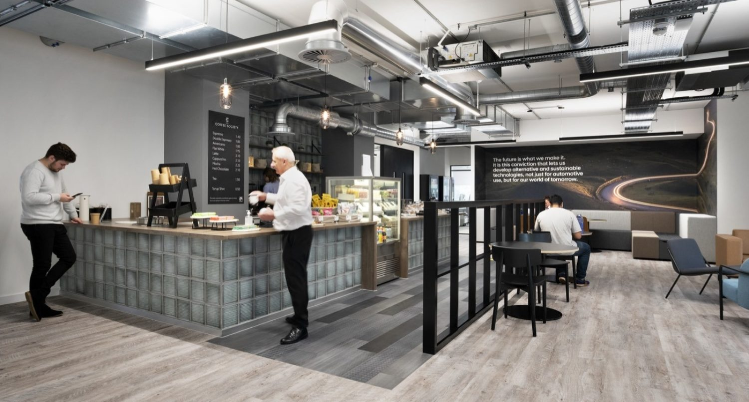 Hyundai office cafeteria design