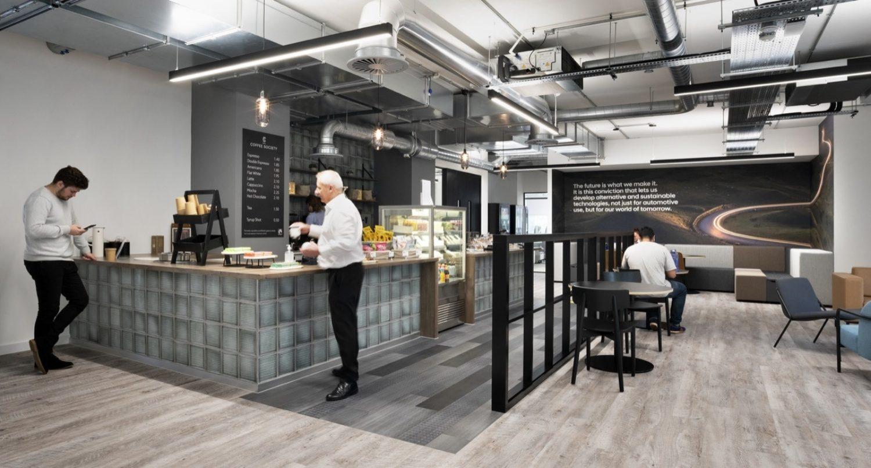 Hyundai office cafeteria design