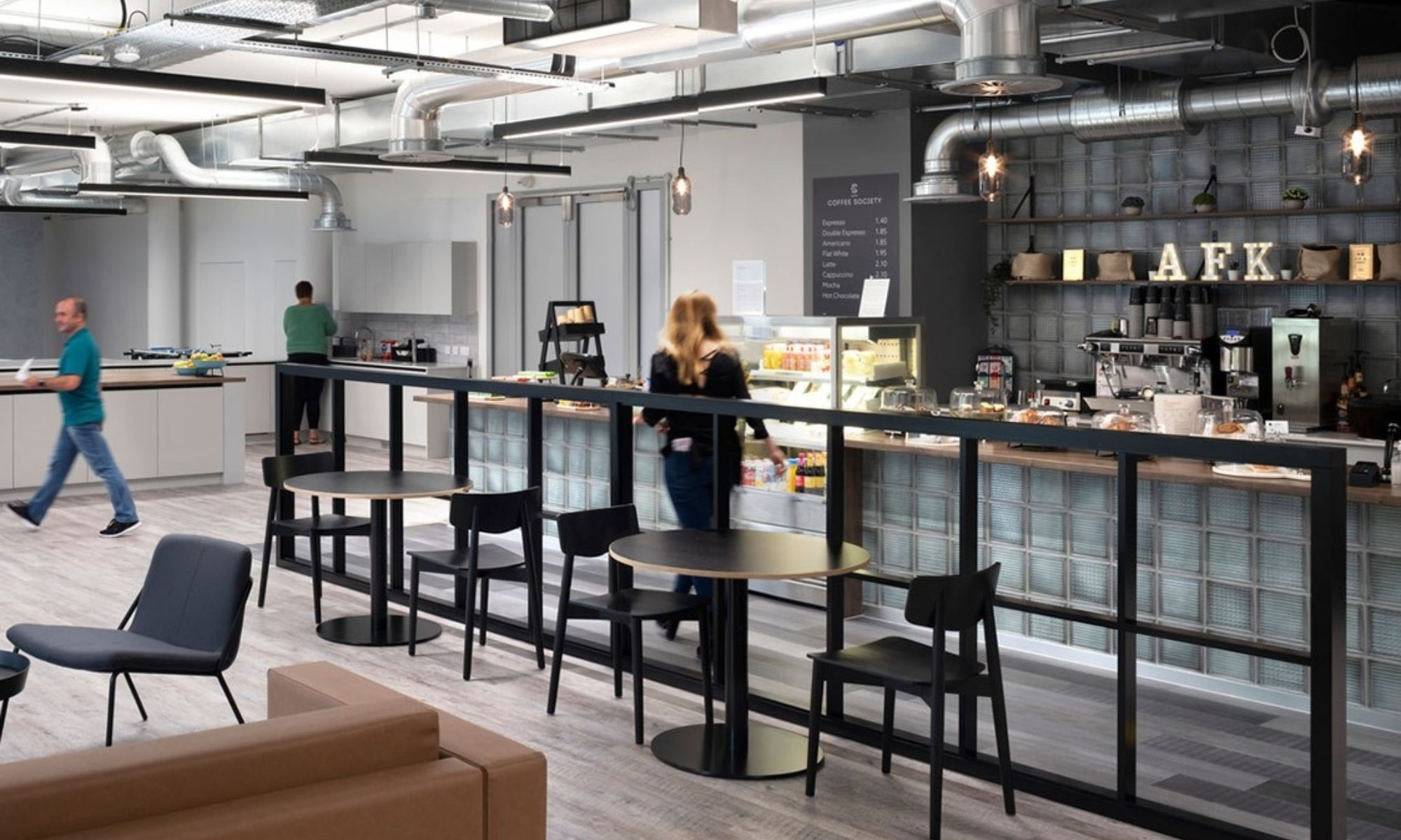 Hyundai corporate cafe design