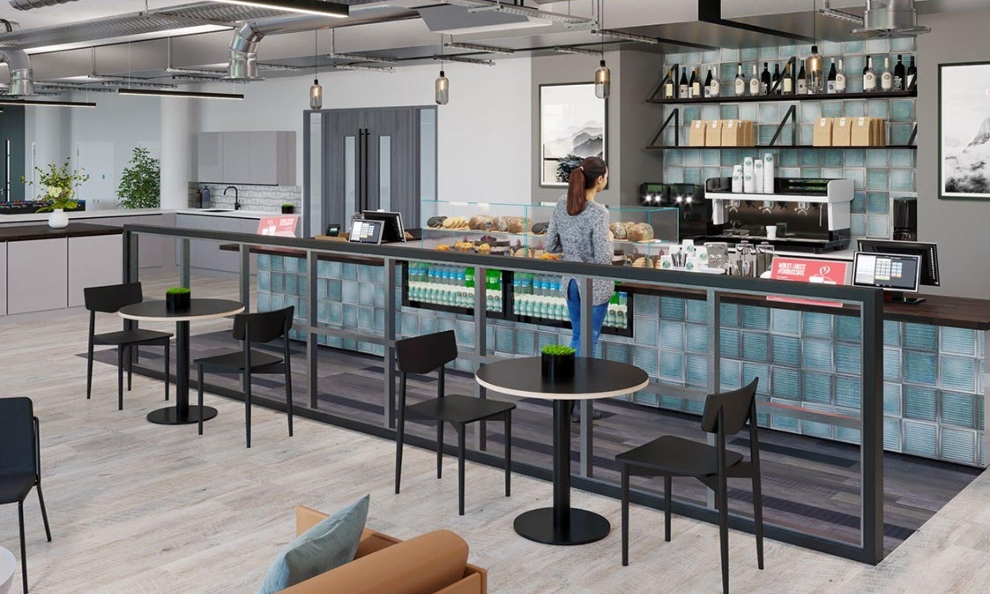 Hyundai office cafe ideas