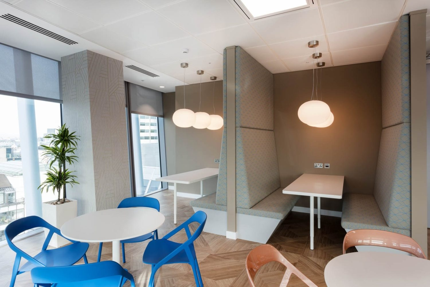 King & Wood mallesons breakout area design