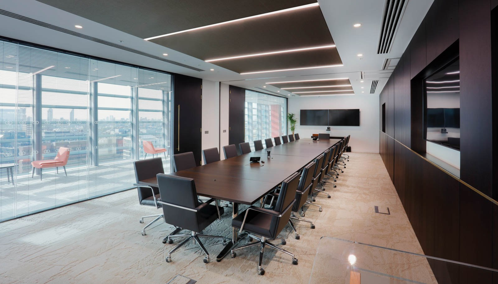 King & Wood Mallesons boardroom fit out
