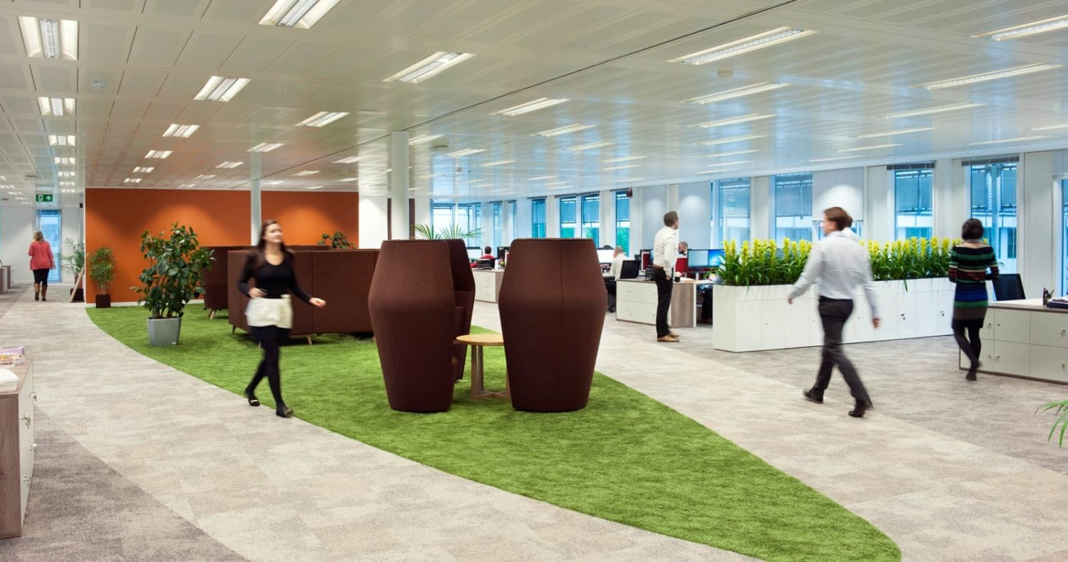 Lindt office breakout space ideas