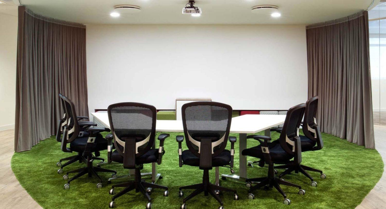 Lindt open plan meeting room design