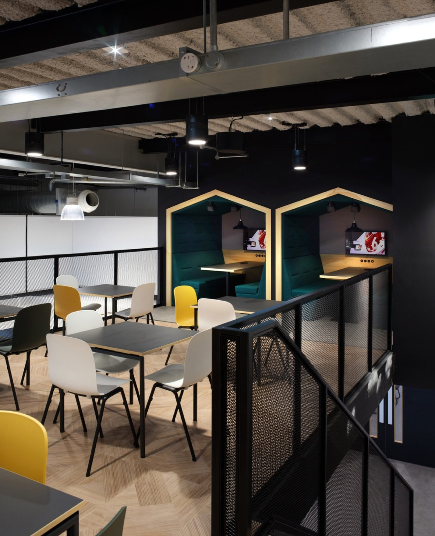 Lonza office dining area fit out