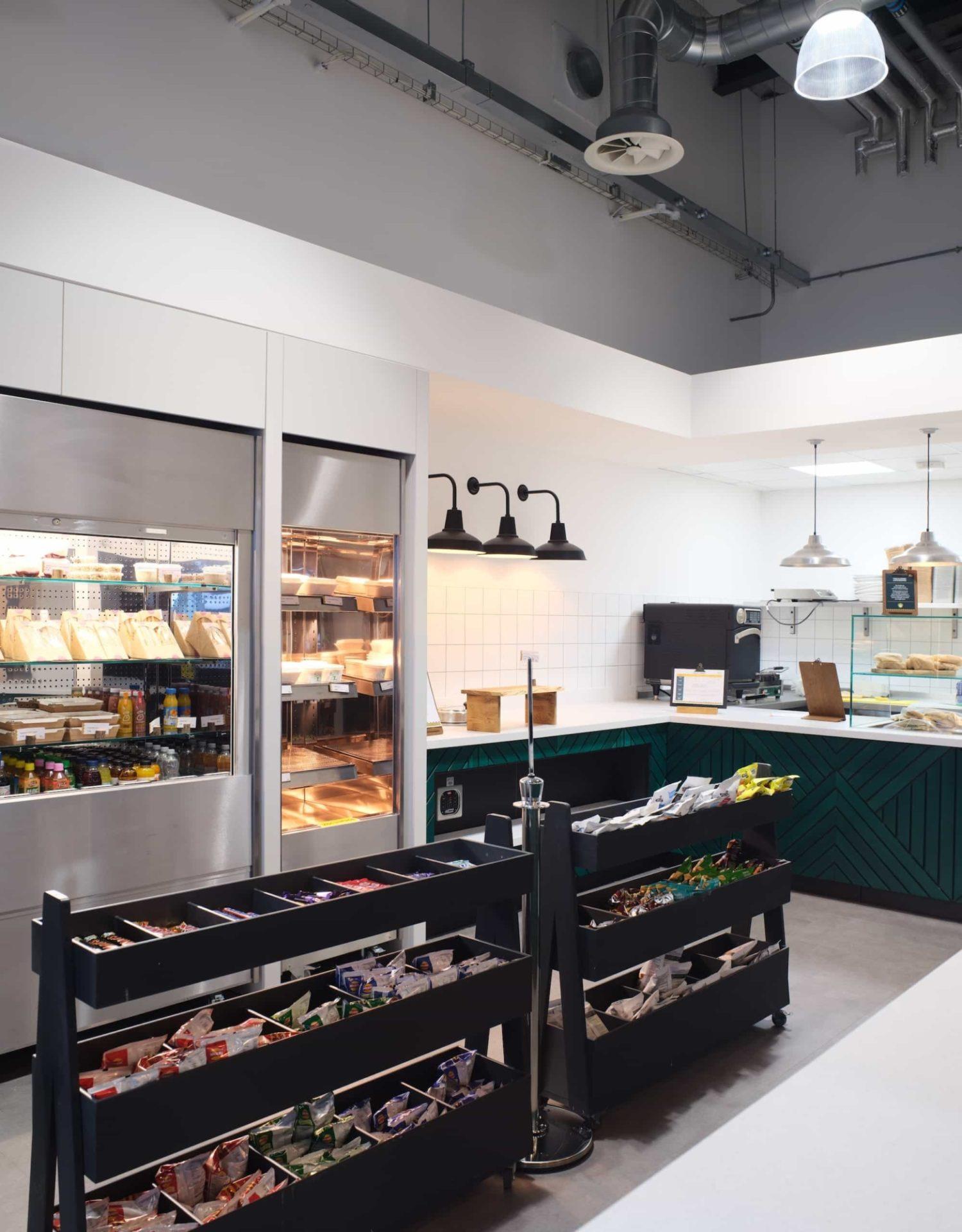 Lonza office kitchen design