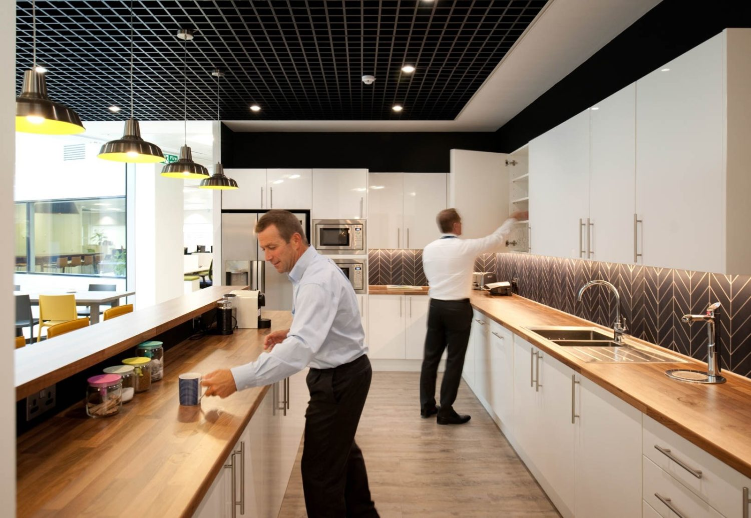 Manhattan associates office kitchen design