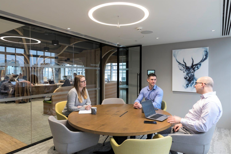 Morgan Sindall agile meeting space design