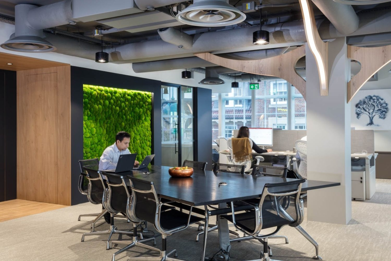Morgan Sindall biophilic workspace