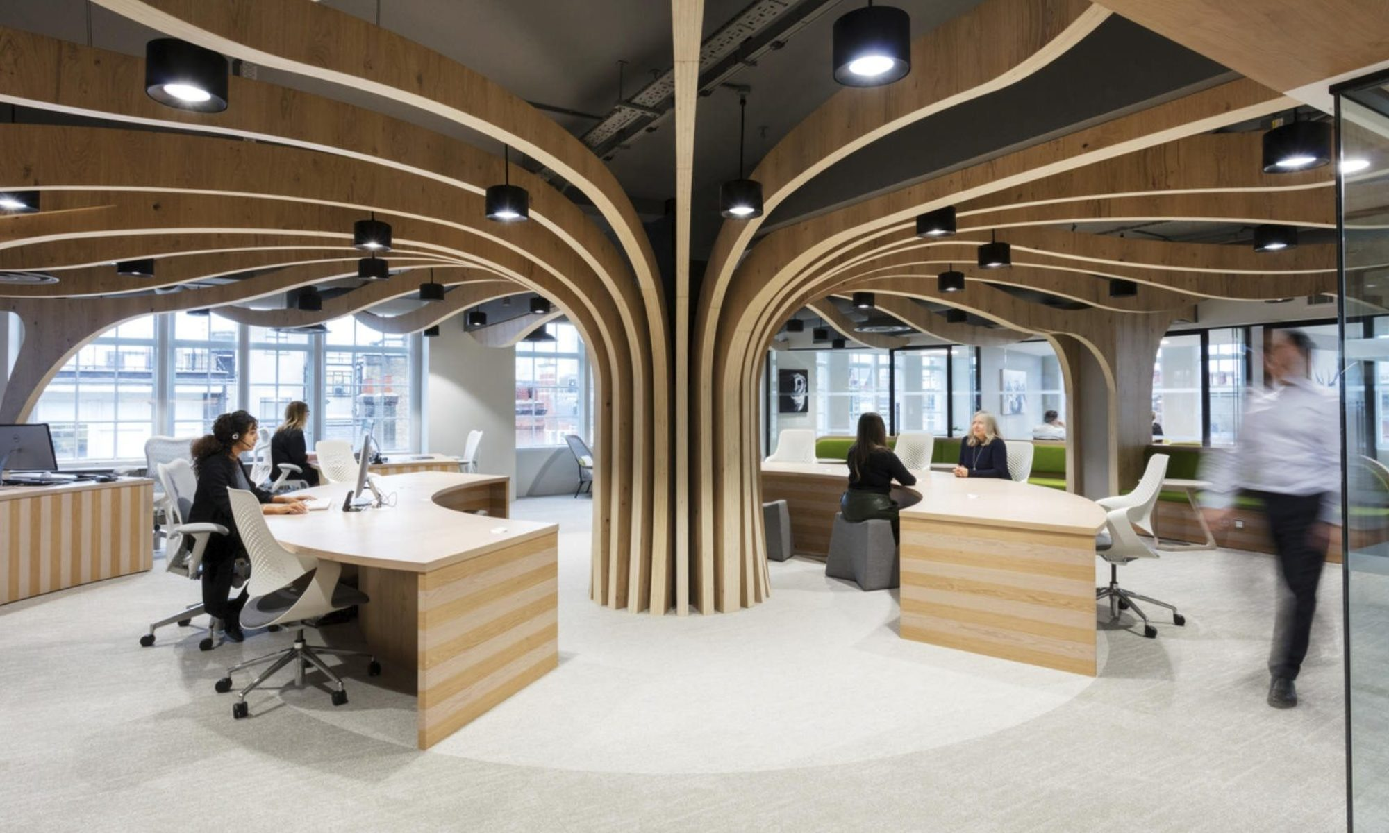 Morgan Sindall biophilic office design