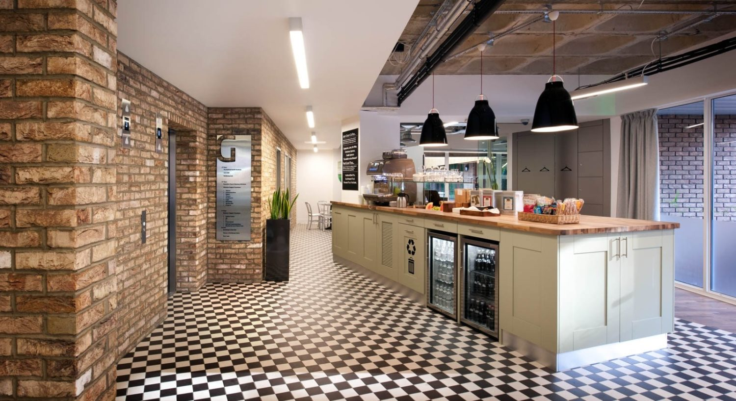 Nuffield Health office design for wellbeing