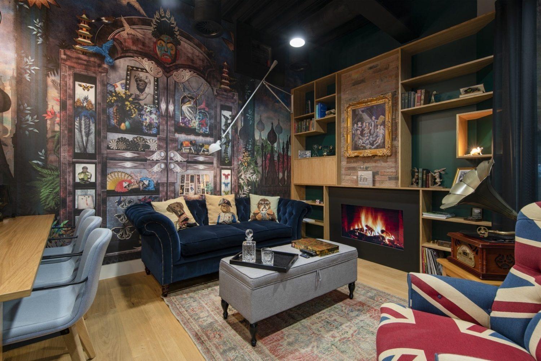 R3 london interior design breakout space