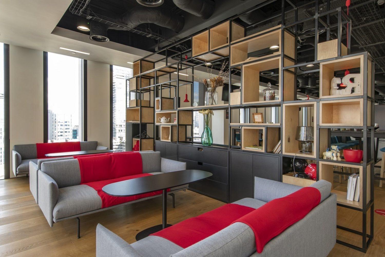 R3 london open plan workspace