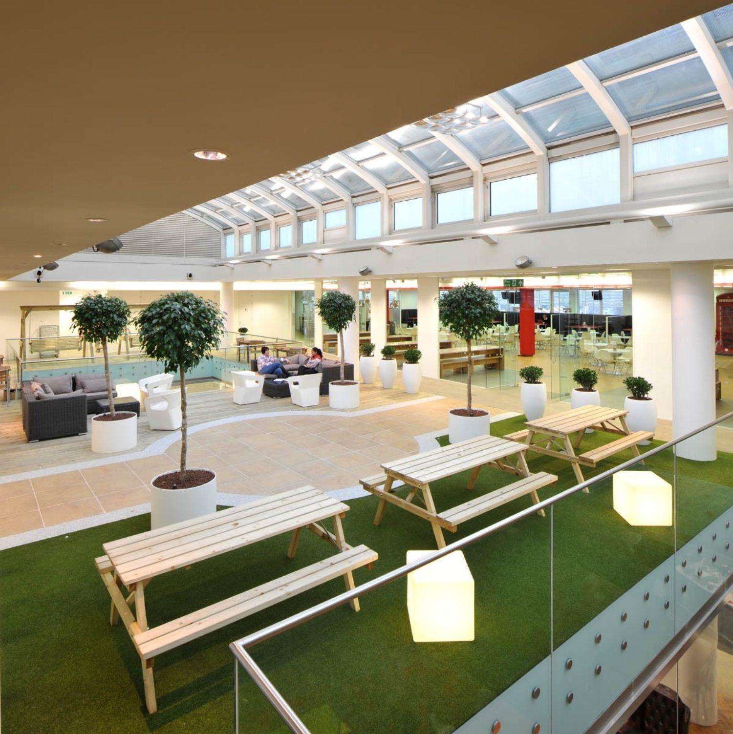 Rackspace communal area design idea