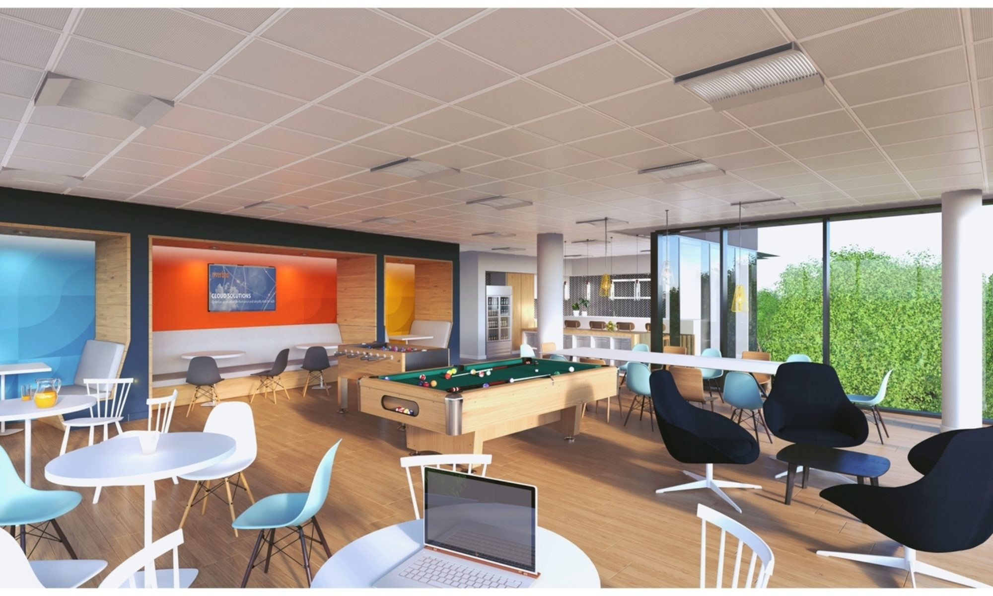 Riverbed office design ideas